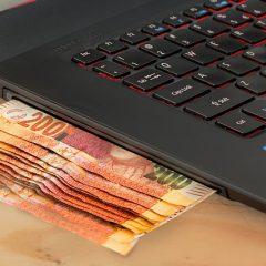 De l'argent grâce à son site internet